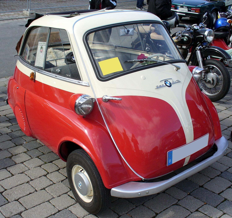 BMW ISETTA 250 white