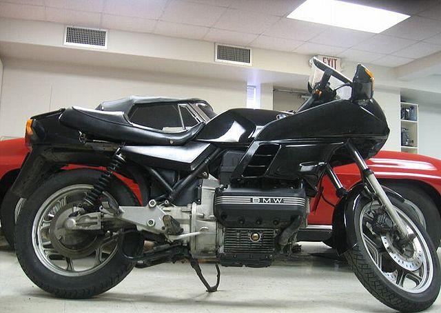 BMW K 100 black