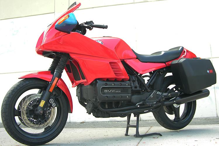 BMW K 100 red