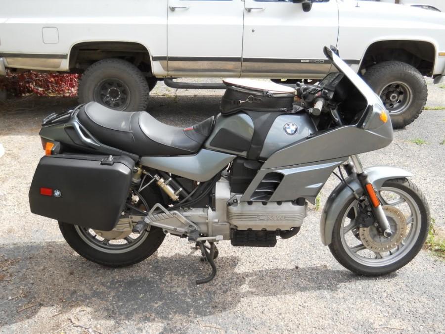 BMW K 100 silver