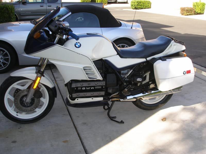 BMW K 100 white