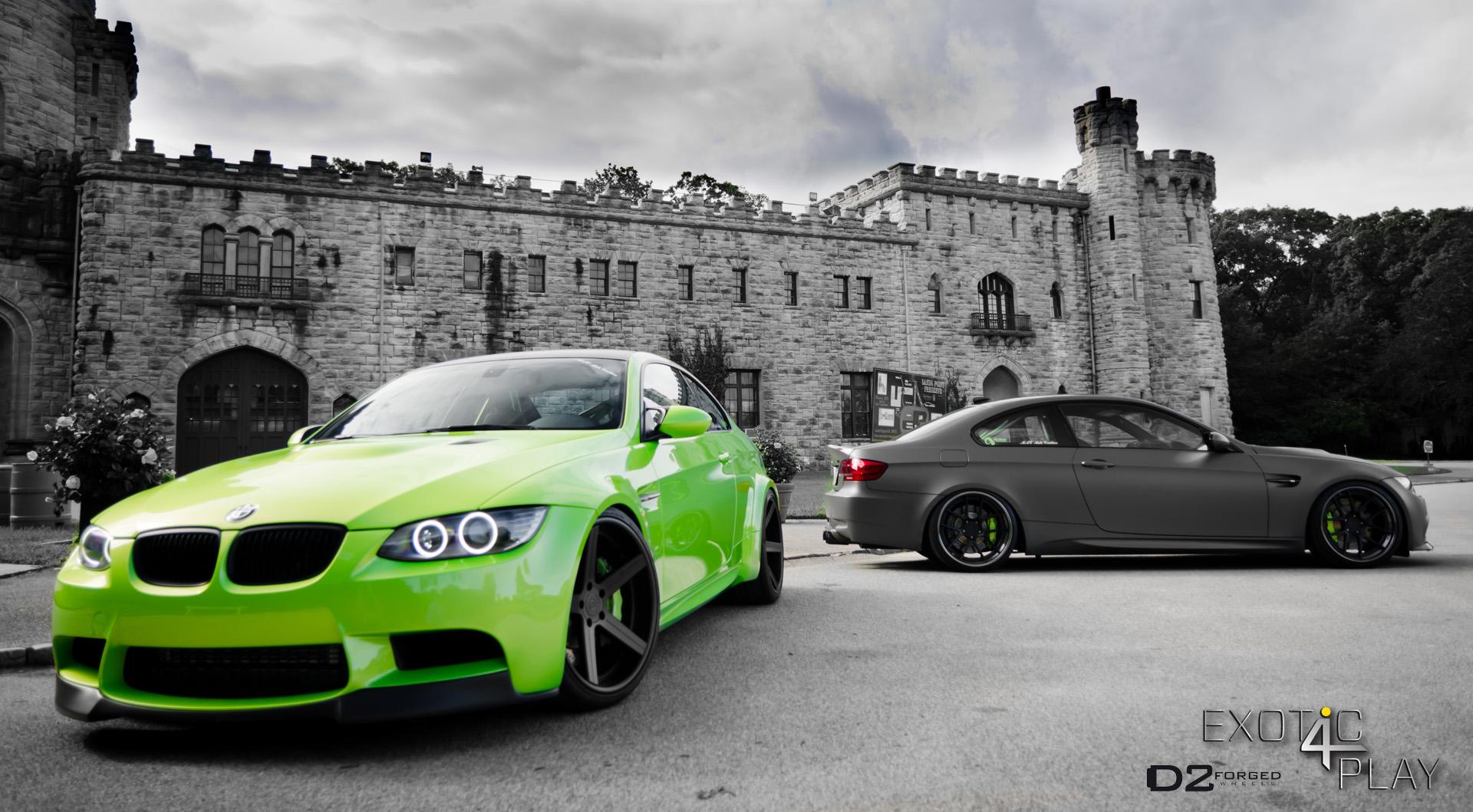 BMW M5 green