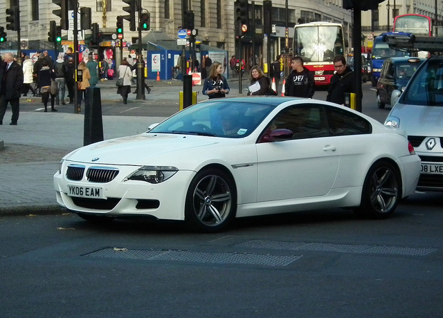 BMW M6 brown