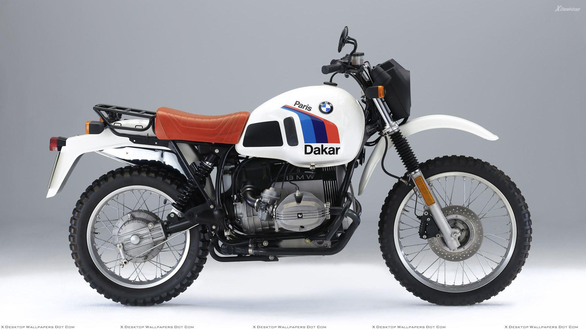 BMW R 100 white
