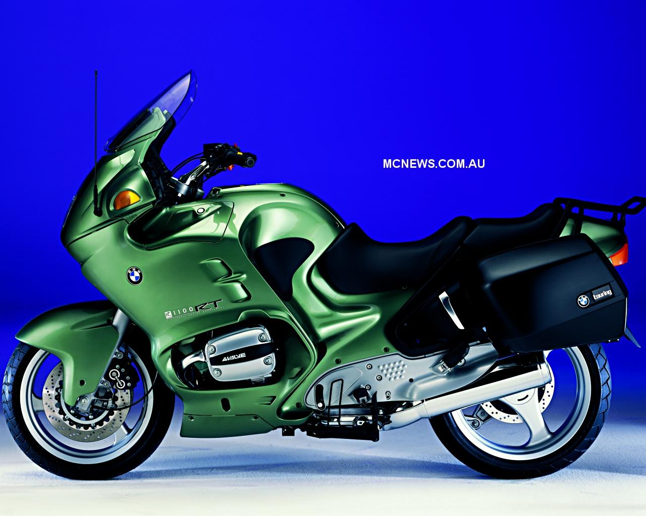BMW R 1100 green