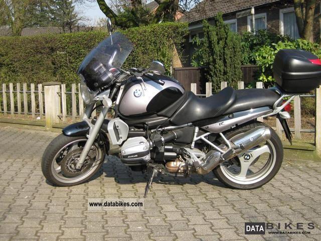 BMW R 1100 silver