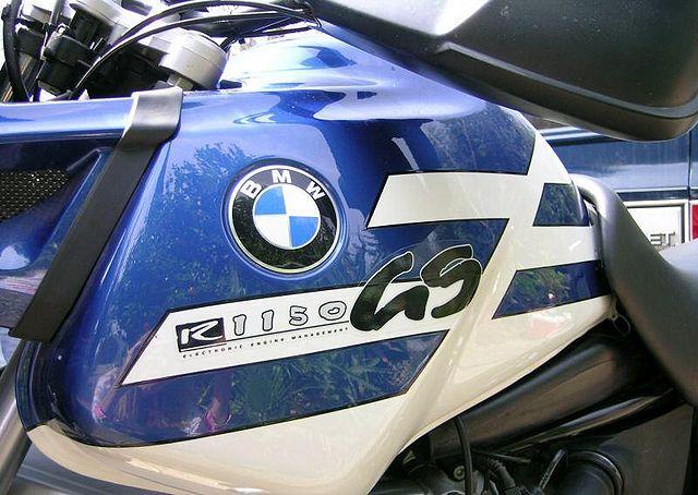 BMW R 1150 blue