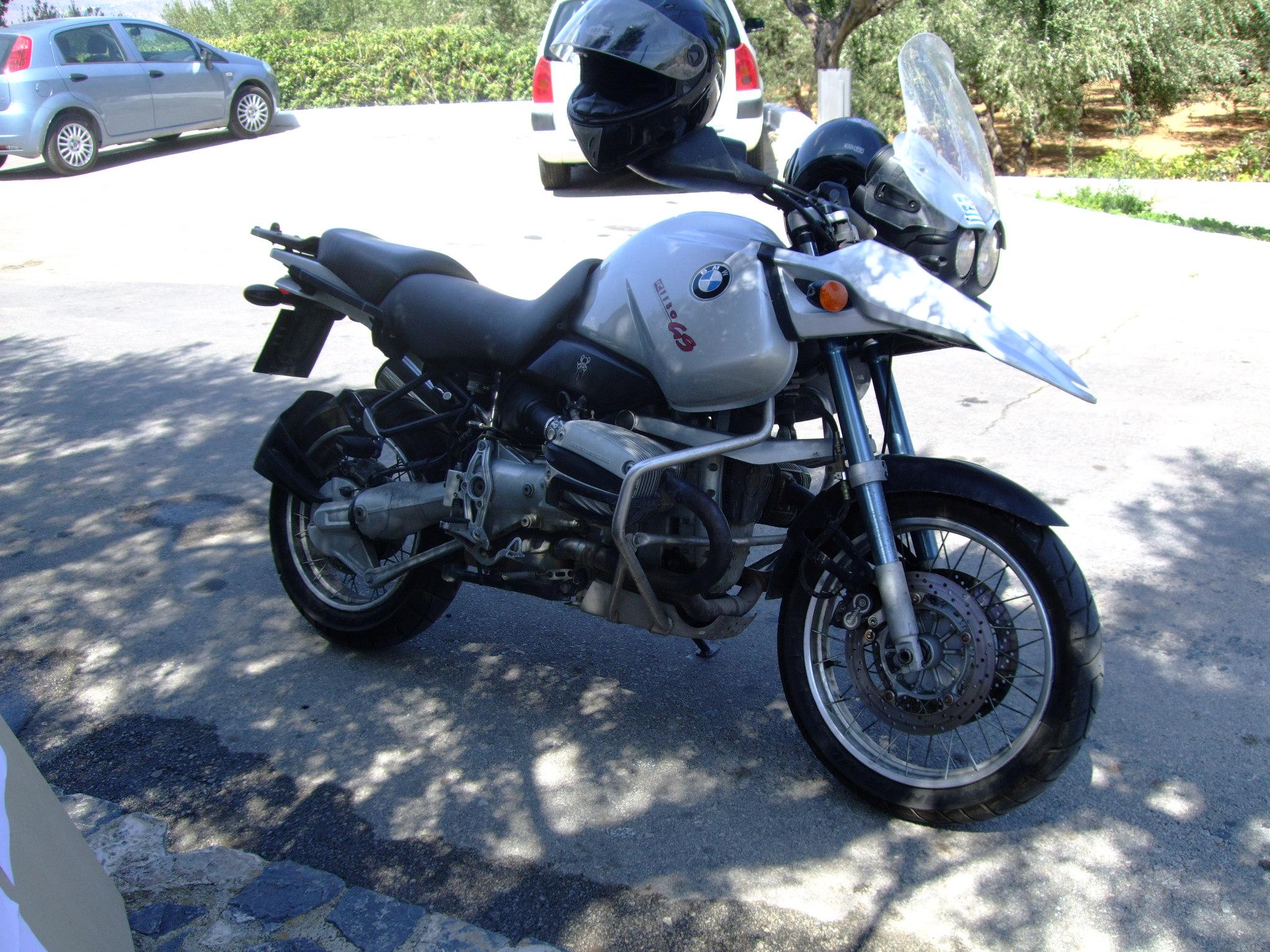 BMW R 1150 silver
