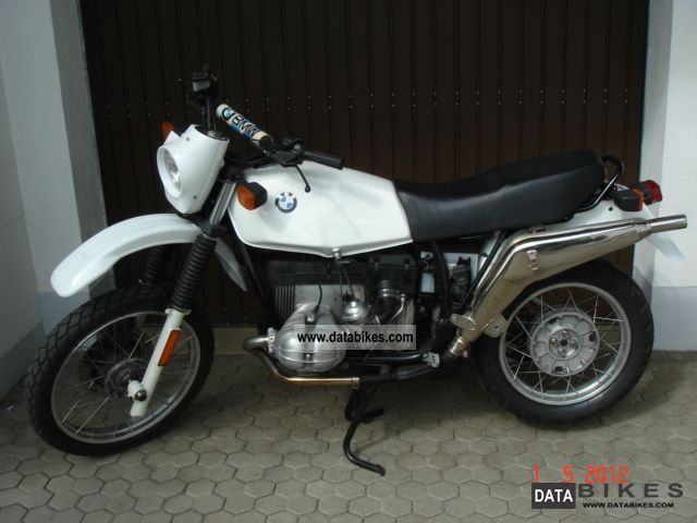 BMW R 80 GS black