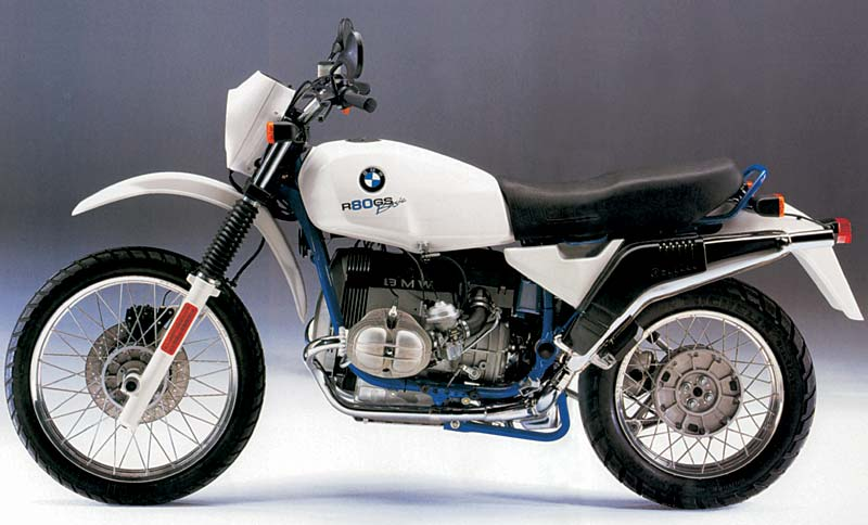 BMW R 80 GS blue