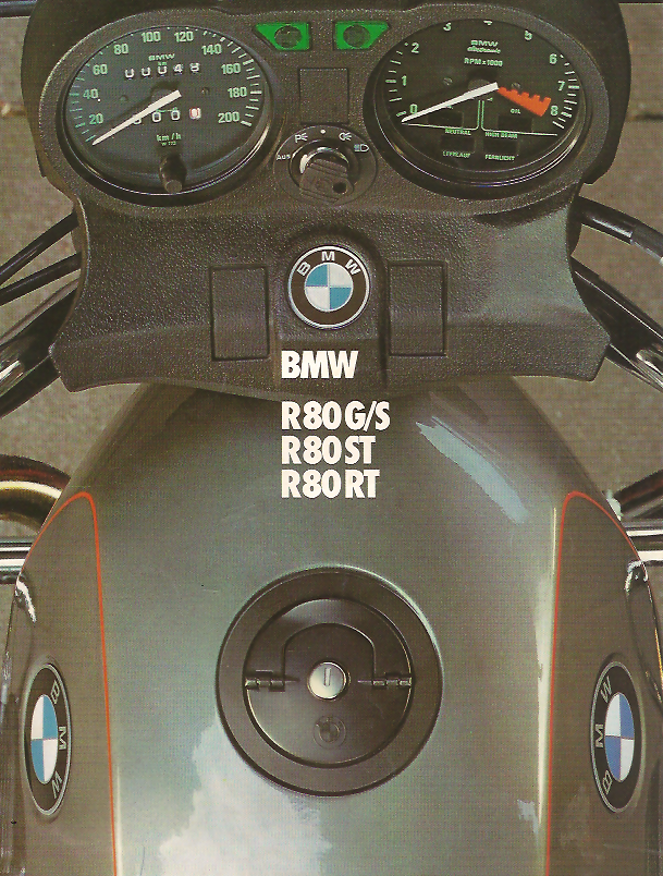 BMW R 80 GS brown