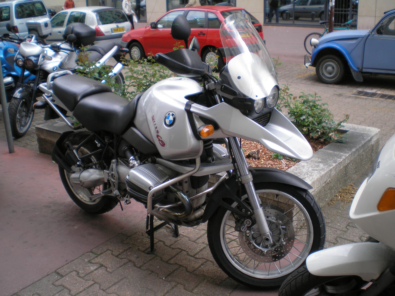 BMW R 80 GS silver