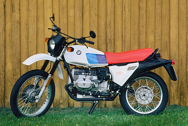 BMW R 80 GS white