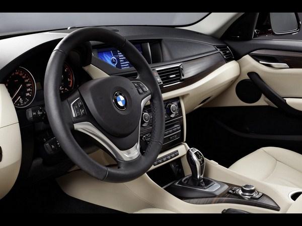 BMW X1 20D interior
