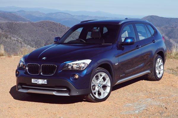 BMW X1 20D silver
