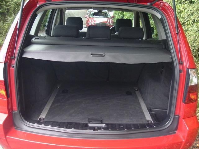 BMW X3 2.0D interior