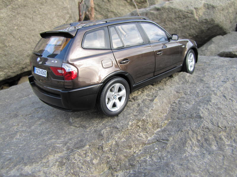 BMW X3 brown