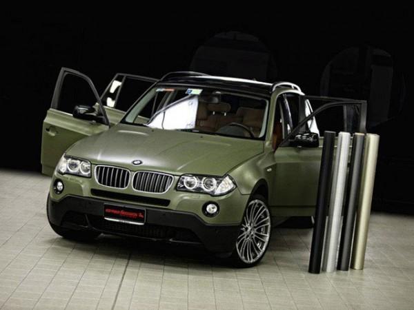 BMW X3 green