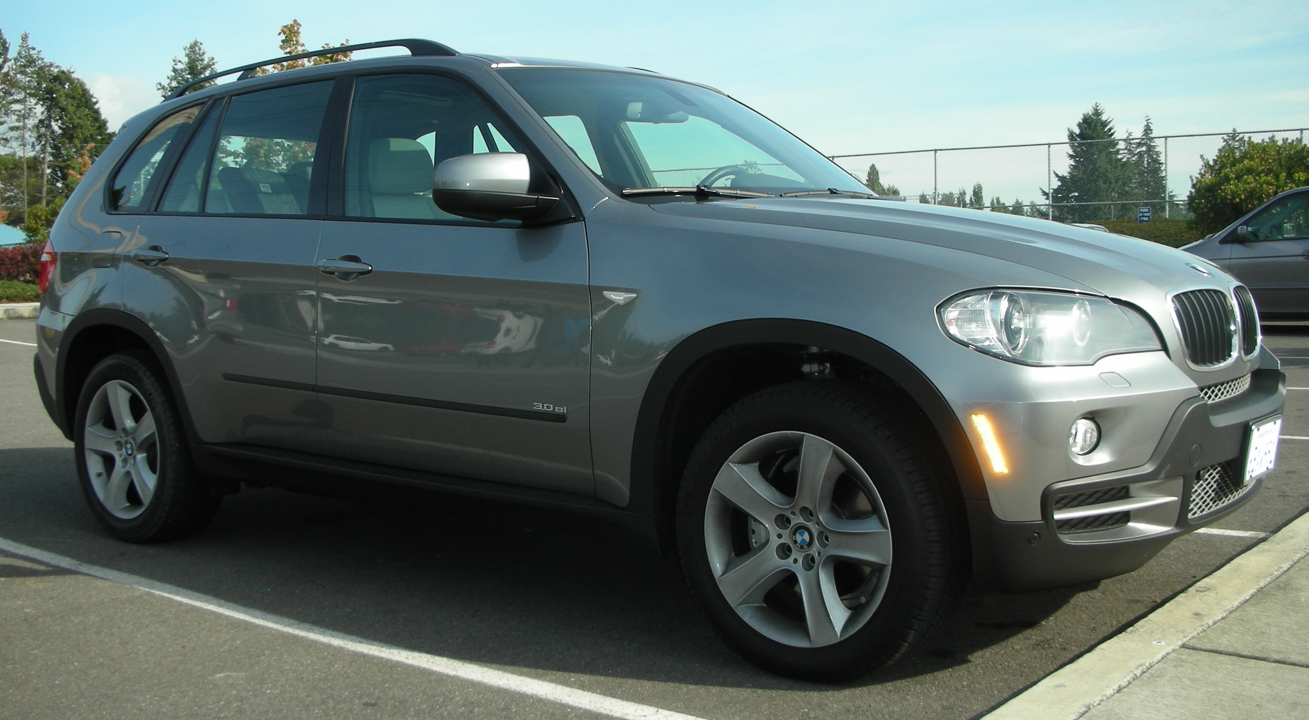 BMW X5 3.0 brown