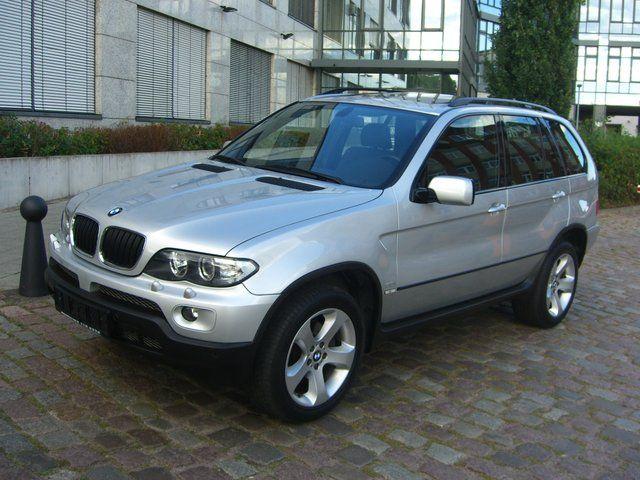 BMW X5 3.0 silver
