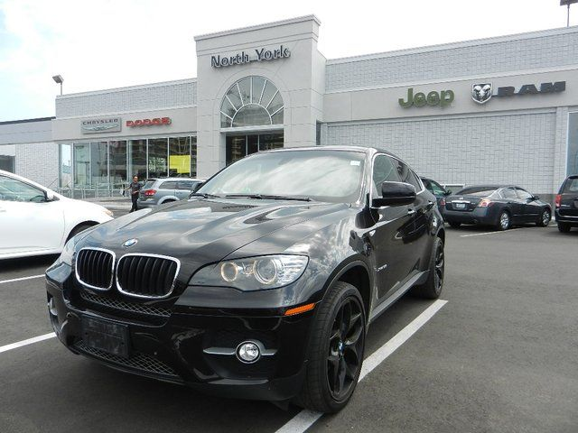 BMW X6 35I brown