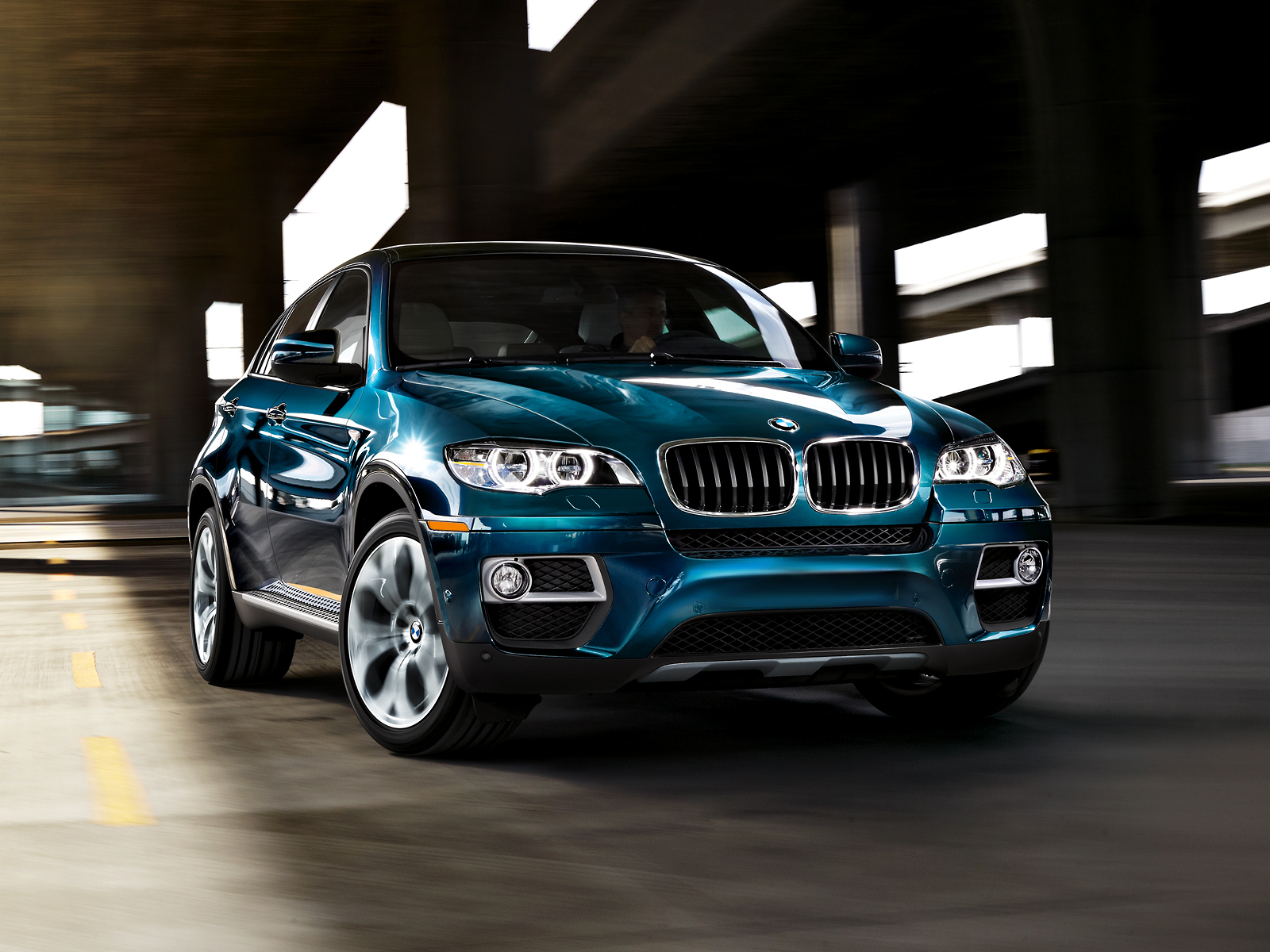 BMW X6 35I interior