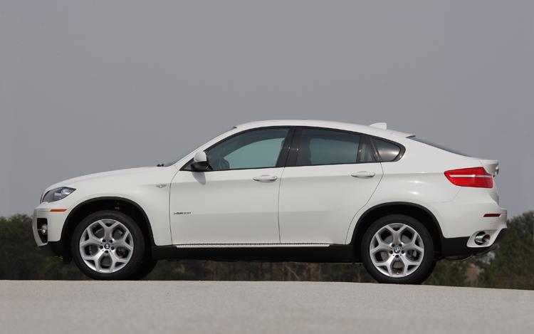 BMW X6 35I silver