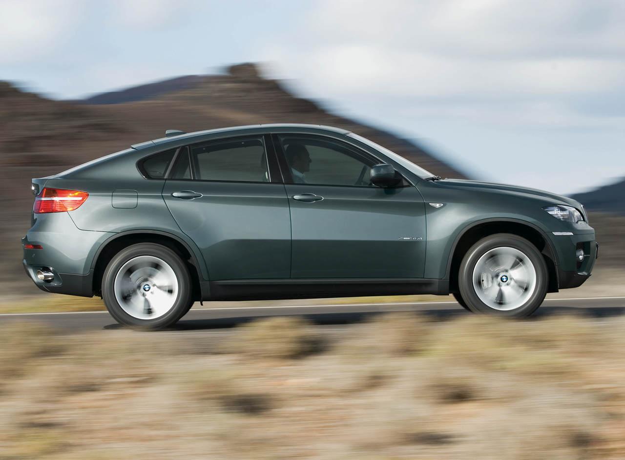 BMW X6 green