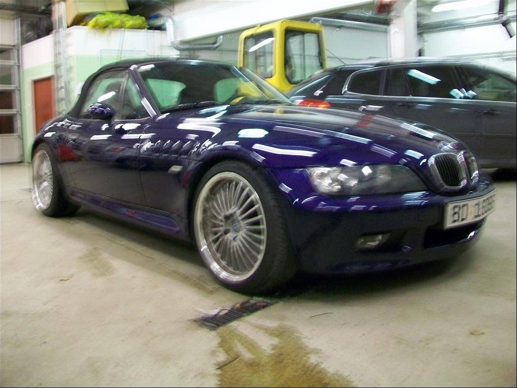 BMW Z3 1.8 blue