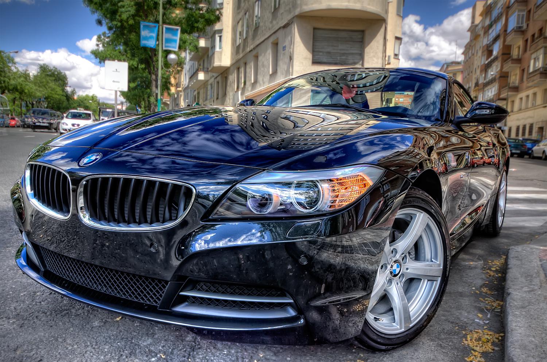 BMW Z4 23I blue