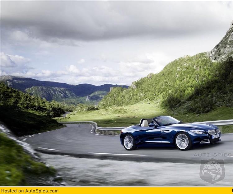 BMW Z4 blue