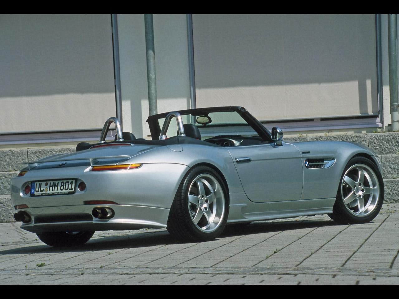 BMW Z8 silver