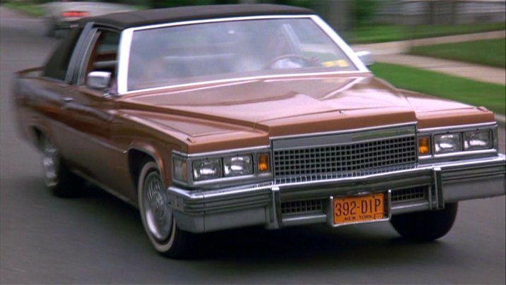 CADILLAC COUPE DE VILLE brown
