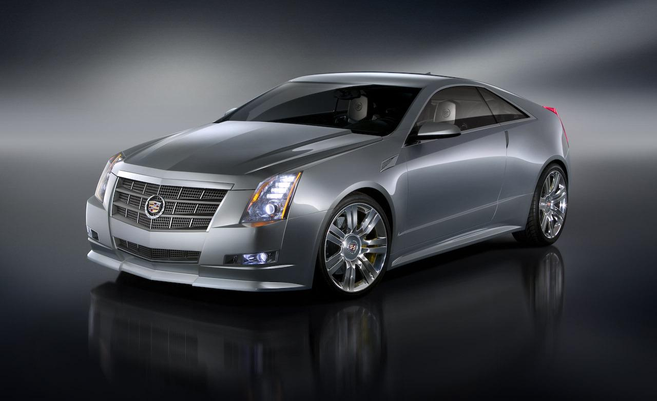 CADILLAC CTS COUPE CONCEPT green