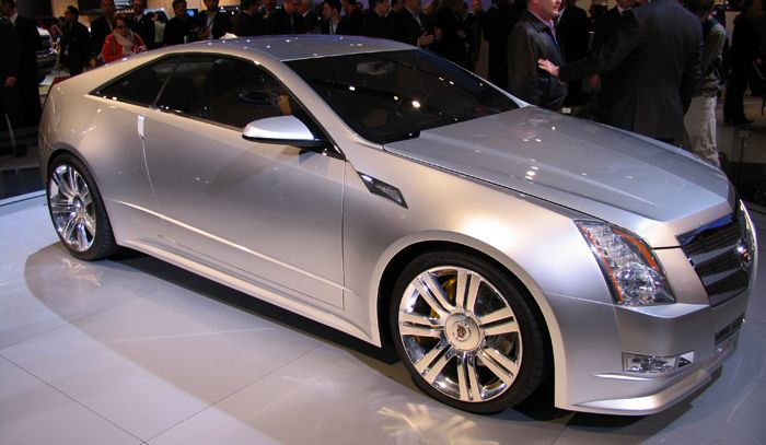CADILLAC CTS COUPE CONCEPT interior