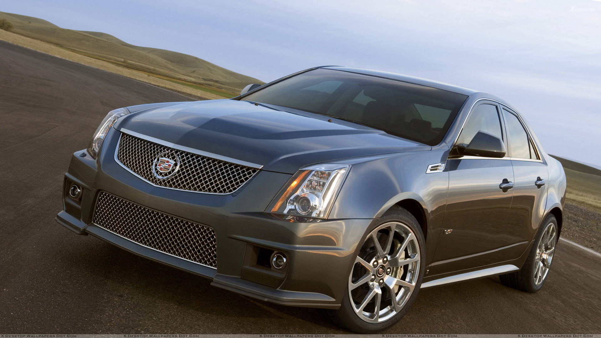 CADILLAC CTS-V SPORT brown
