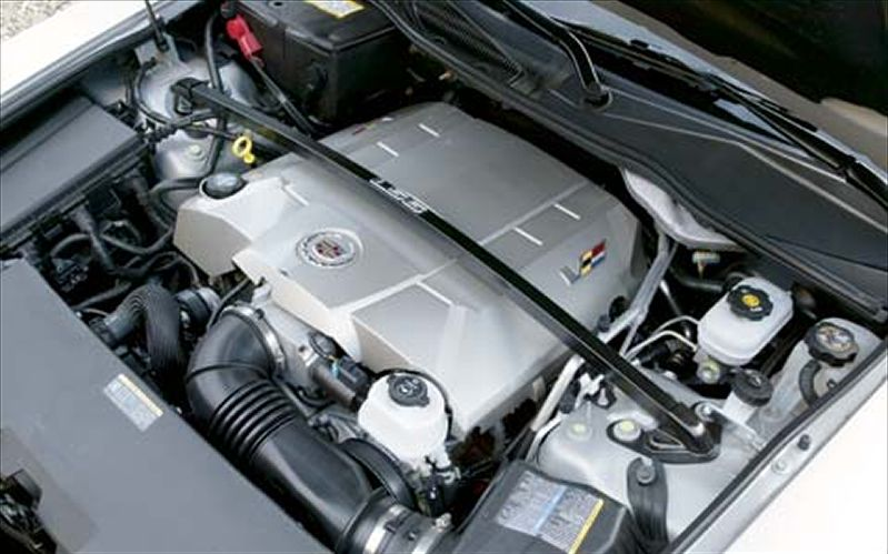CADILLAC CTS-V SPORT engine