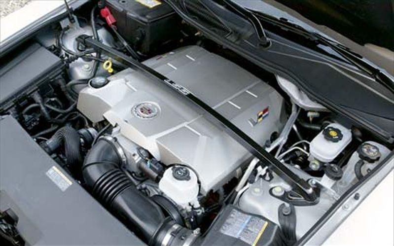 CADILLAC CTS-V SPORT engine