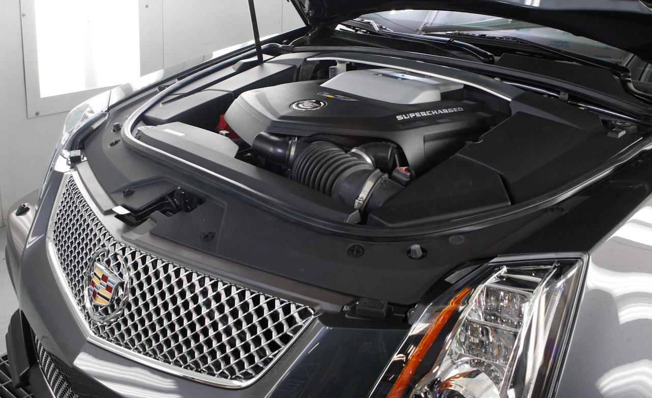 CADILLAC CTS-V engine