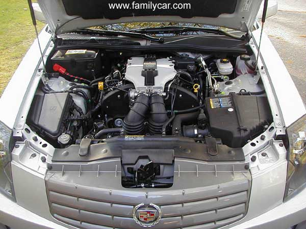 CADILLAC CTS engine