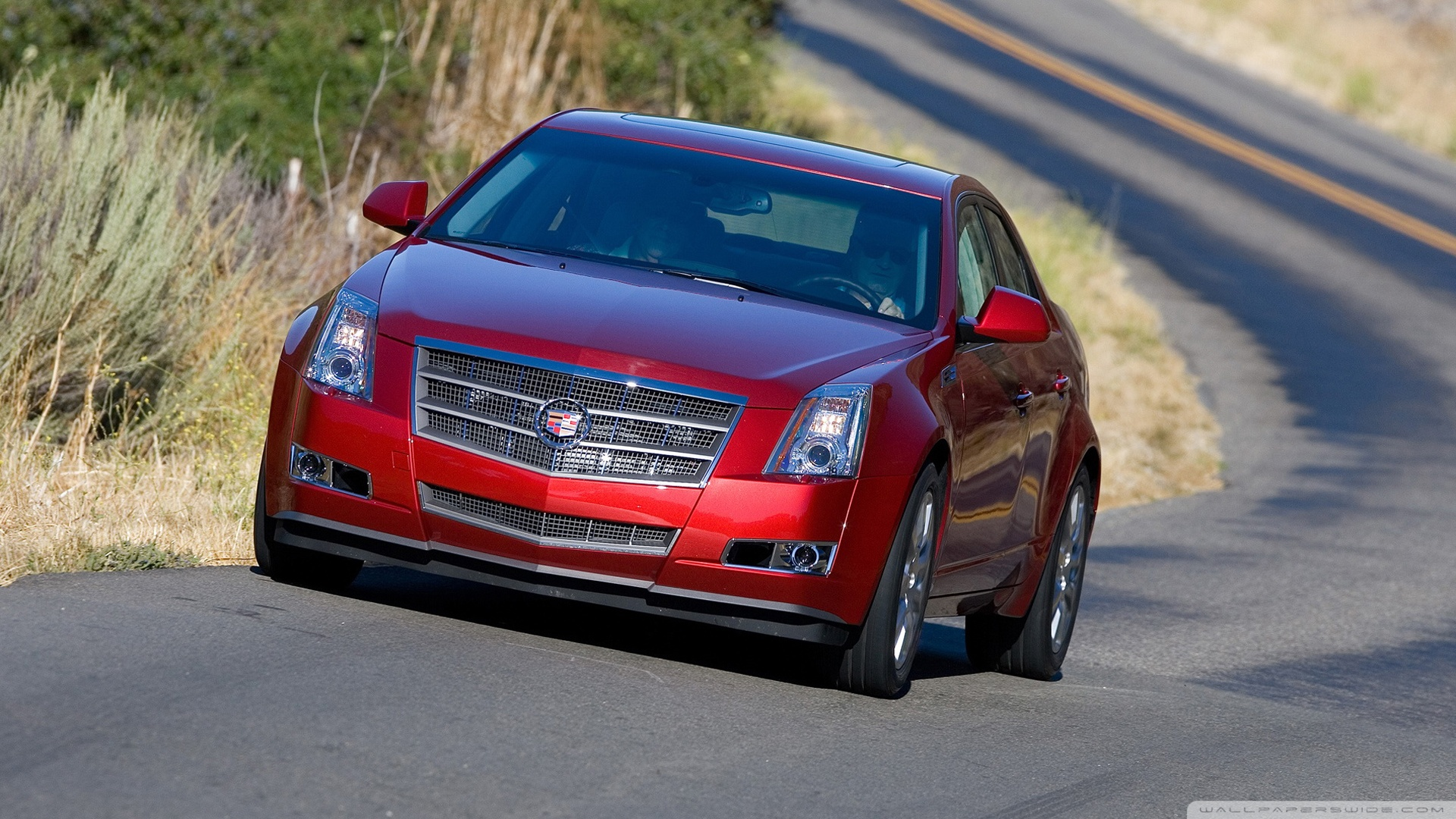 CADILLAC CTS red