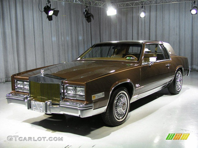 CADILLAC ELDORADO brown