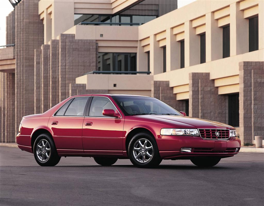 CADILLAC STS SEVILLE red