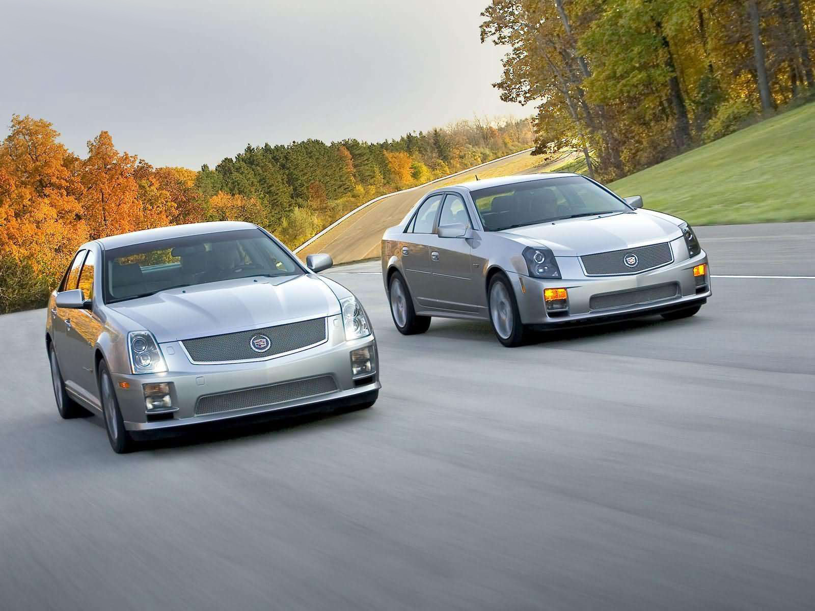 CADILLAC STS-V - Review and photos