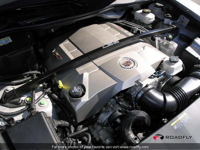 CADILLAC STS-V engine