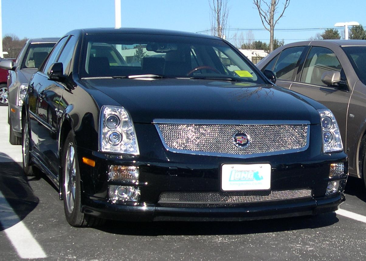 cadillac sts v review and photos. Black Bedroom Furniture Sets. Home Design Ideas