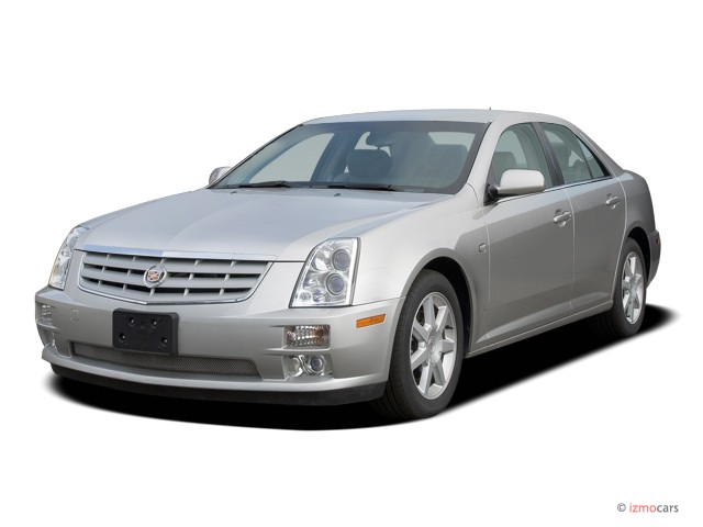 CADILLAC STS-V red