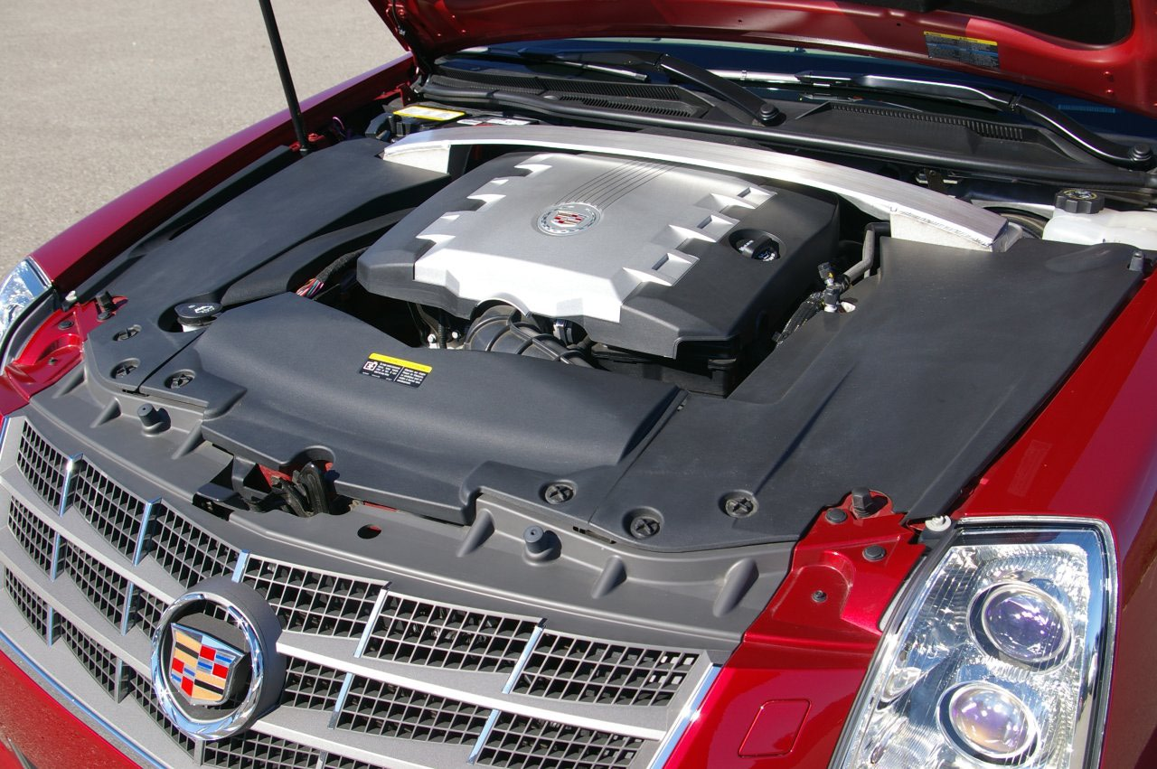 CADILLAC STS engine