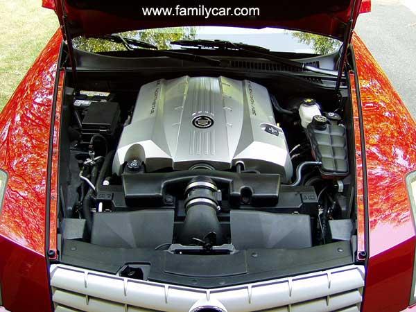 CADILLAC XLR engine
