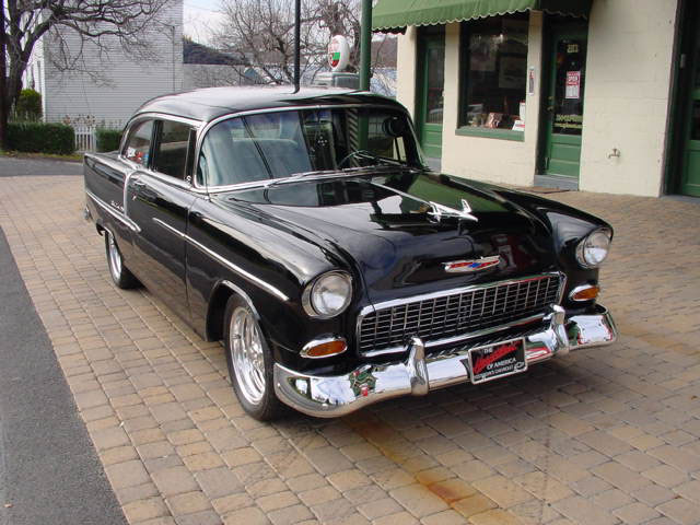 CHEVROLET BEL AIR black